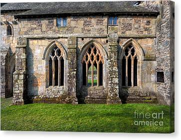 13th Century Abbey Canvas Print by Adrian Evans