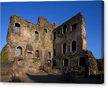 Old Wall Canvas Print - 13th Century Castle , Ferns, County by Panoramic Images