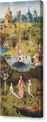 The Creation Of Adam Canvas Print - Bosch, Hieronymus Van Aeken, Called by Everett