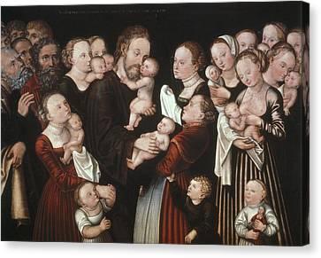 Cranach, Lucas, The Elder 1472-1553 Canvas Print by Everett