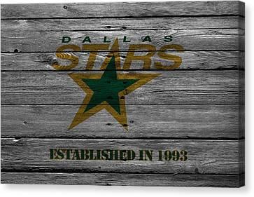 Dallas Stars Canvas Print by Joe Hamilton