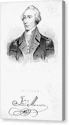 Francis Marion (1732?-1795) Canvas Print by Granger