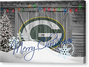 Player Canvas Print - Green Bay Packers by Joe Hamilton