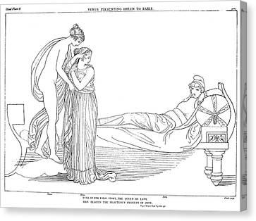Homer The Iliad Canvas Print by Granger