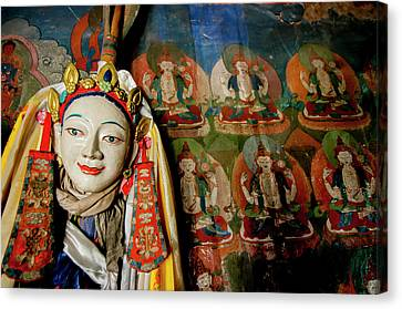 India, Jammu & Kashmir, Ladakh Canvas Print