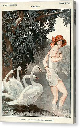 La Vie Parisienne  1923 1920s France Canvas Print
