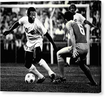Pele Canvas Print by Retro Images Archive