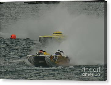 Port Huron Sarnia International Offshore Powerboat Race Canvas Print by Randy J Heath