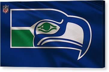 Seattle Seahawks Uniform Canvas Print
