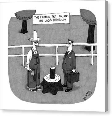 New Yorker April 27th, 2009 Canvas Print