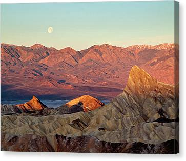 Panamint Valley Canvas Print - Usa, California, Death Valley National by Ann Collins