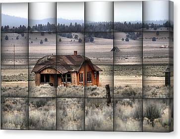 140 Homestead Weave Canvas Print by Ray Finch
