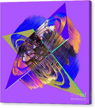 1422 Abstract Thought Canvas Print by Chowdary V Arikatla