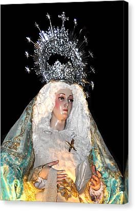 143 Semana Santa In Olvera Canvas Print by Patrick King