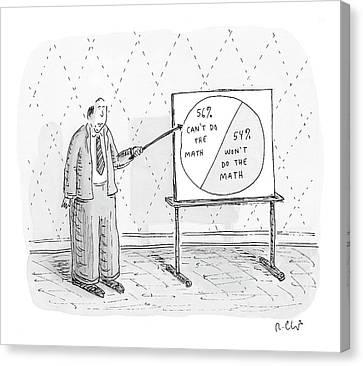 New Yorker November 5th, 2007 Canvas Print