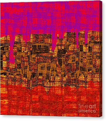 1457 Abstract Thought Canvas Print by Chowdary V Arikatla