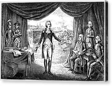 George Washington Canvas Print by Granger