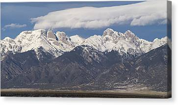 14er Panorama Canvas Print by Aaron Spong