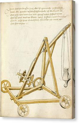 14th Century Military Equipment Canvas Print