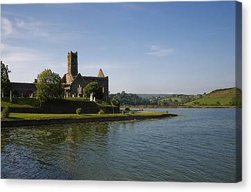 14th Century Timoleague Abbey Canvas Print by Panoramic Images