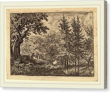Allart Van Everdingen Dutch, 1621-1675 Canvas Print