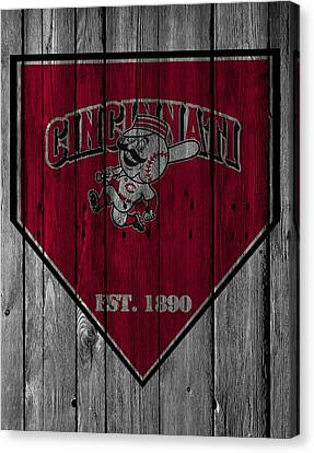Cincinnati Reds Canvas Print
