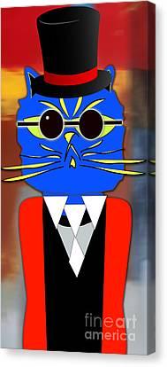 Cool Cat Canvas Print