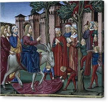 De Predis, Cristoforo 1440-1486 Canvas Print by Everett