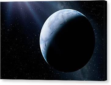 Earth-like Alien Planet Canvas Print