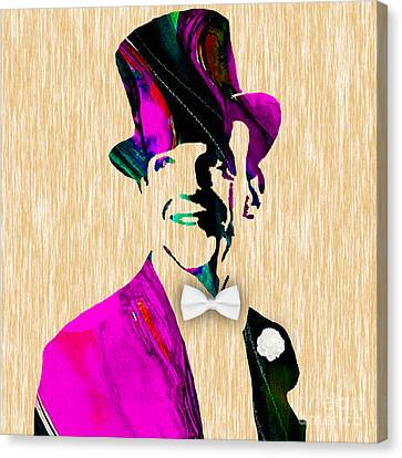 Fred Astaire Collection Canvas Print by Marvin Blaine