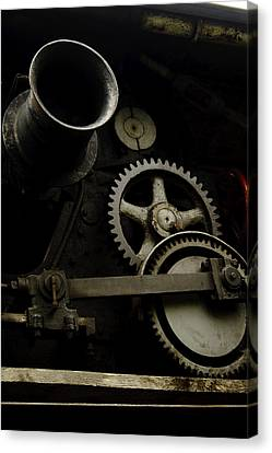 Old Train Canvas Print by Gary Marx