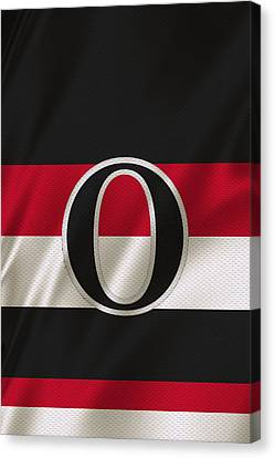 Ottawa Senators Canvas Print by Joe Hamilton