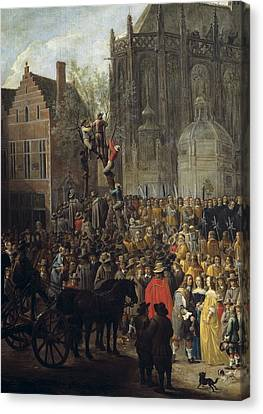 Teniers II, David, The Younger Canvas Print