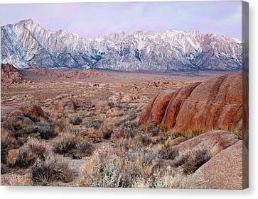 Usa, California, Lone Pine Canvas Print by Jaynes Gallery