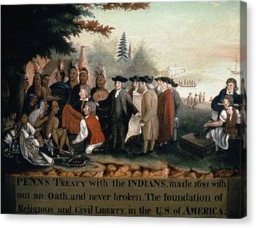 William Penn (1644-1718) Canvas Print by Granger