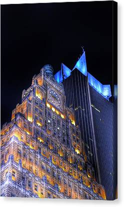 1501 Broadway - Paramount Building - Times Square New York Canvas Print by Marianna Mills
