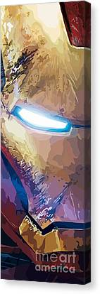 154. I'm An Army. Canvas Print by Tam Hazlewood