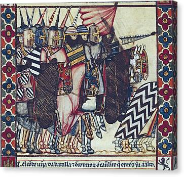 Alfonso X, Called The Wise 1221-1284 Canvas Print by Everett