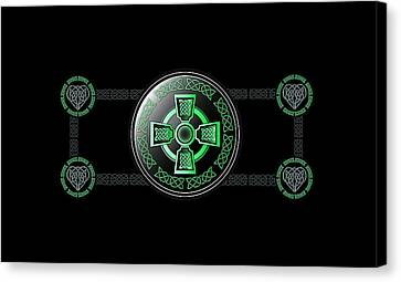 Celtic Cross Canvas Print by Ireland Calling