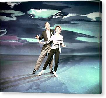 Fred Astaire Canvas Print by Silver Screen