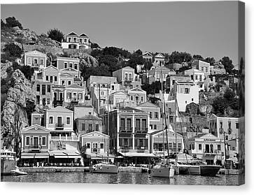 Symi Island Canvas Print by George Atsametakis