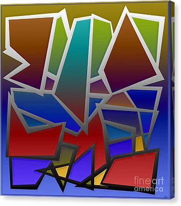 1624 Abstract Thought Canvas Print