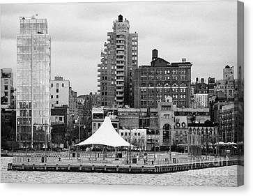 165 Charles Street Pier 45 Hudson River Park New York City  Canvas Print