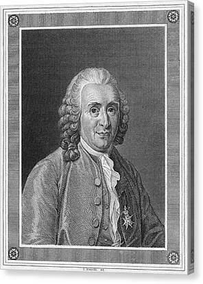 Carolus Linnaeus (1707-1778) Canvas Print by Granger
