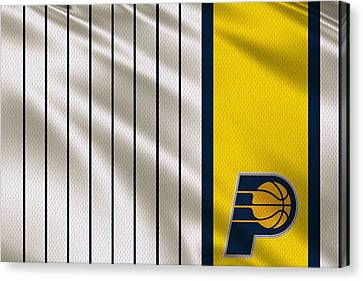 Indiana Pacers Uniform Canvas Print by Joe Hamilton