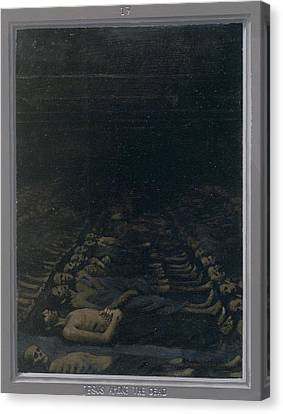 17. Jesus Among The Dead / From The Passion Of Christ - A Gay Vision Canvas Print by Douglas Blanchard