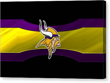 Minnesota Vikings Canvas Print by Joe Hamilton
