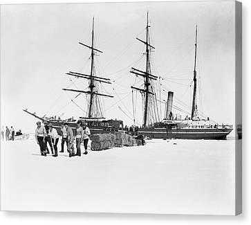 Terra Canvas Print - Terra Nova Antarctic Exploration by Scott Polar Research Institute