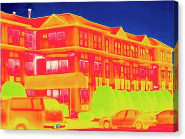 Thermogram Canvas Print by Science Stock Photography
