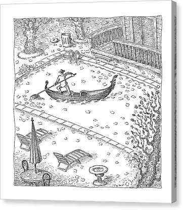 New Yorker November 20th, 2006 Canvas Print